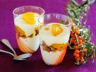 Schichtdessert mit Joghurtcreme Rezept