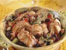 Schmor-Kaninchen mit Oliven und Rosmarin Rezept