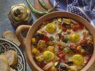 Schmorgemüse mit Ei Rezept