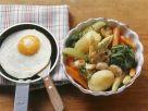 Schmorgemüse mit Spiegelei Rezept