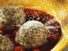 Schnelle Mohnknödel mit Kirschen Rezept