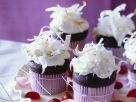 Schoko-Cupcakes mit Kokos Rezept