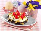 Schoko-Flakes-Nester mit Dragée-Eiern Rezept
