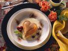 Schoko-Puddingherzen mit Vanillesauce Rezept