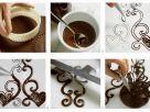 Schoko-Verziehrung für Torten und Kuchen Rezept
