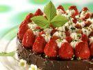 Schokokuchen mit Erdbeeren Rezept