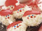 Schokoladen-Kokos-Weihnachtsmänner Rezept