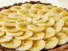 Schokotarte mit Bananenhaube Rezept