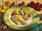 Scholle mit Salat Rezept