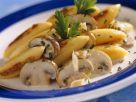 Schupfnudelpfanne mit Pilzen Rezept