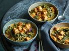 Schwarzkohl-Curry mit Tofu Rezept