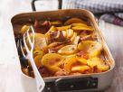 Schweinefleisch-Kartoffelgratin Rezept