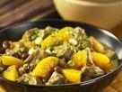 Schweinefleisch-Pfirsich-Curry Rezept