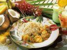 Schweinefleischcurry mir Reis Rezept