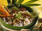 Schweinefleischcurry mit Reis Rezept
