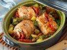Schweinefleischröllchen mit Gemüse Rezept