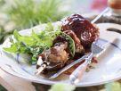 Schweinefleischspieß vom Grill Rezept
