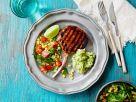 Schweinekotelett vom Grill mit Maissalat Rezept