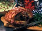 Schweinekrustenbraten mit Kohl-Speck-Salat Rezept