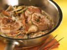 Schweinemedaillons in Austernpilz-Gemüsesauce Rezept