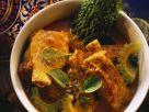 Schweinerippen in exotischer Currysauce Rezept