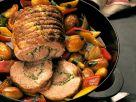 Schweinerollbraten mit Gemüse Rezept