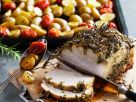 Schweinerücken mit Kräutern und Ofenkartoffeln Rezept