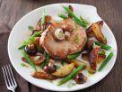 Schweinesteak mit Kartoffeln Rezept