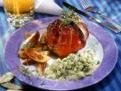 Schweinshaxe mit Bratkartoffeln Rezept