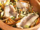 Seehecht mit Gemüse Rezept