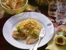 Seeteufel mit Pesto im Lachsmantel Rezept