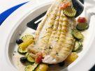 Seezunge mit Zucchinigemüse Rezept