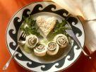 Seezungenröllchen mit Reis Rezept