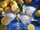 Sekt mit Zitronensorbet Rezept