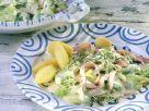 Senfgurken mit Kartoffeln Rezept
