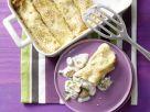 Sesampfannkuchen mit Pilzen Rezept
