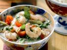 Shrimps mit scharfer Kokossoße Rezept