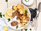 Smarte Fish and Chips mit Joghurt-Dip Rezept