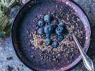 Smoothie-Bowl mit Blaubeeren Rezept