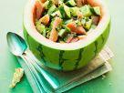 Sommersalat mit Gurke und Melone Rezept