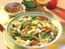 Spaghetti mit Grillgemüse und Schafskäse Rezept