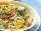Spaghetti mit Lachs-Dill-Soße Rezept