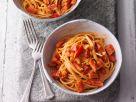 Spaghetti mit Paprikasauce Rezept