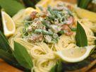 Spaghetti mit Thunfisch-Bohnen-Soße Rezept
