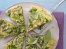 Spargel-Basilikum-Omelett Rezept