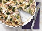 Spargel-Brokkoli-Tarte mit roten Zwiebeln Rezept