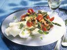 Spargel-Champignon-Salat mit Camembert Rezept