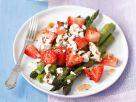 Spargel-Erdbeer-Salat mit Feta Rezept