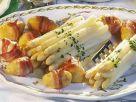Spargel mit Schinken-Kartoffeln Rezept