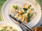 Spargel-Möhrengemüse mit Reis Rezept